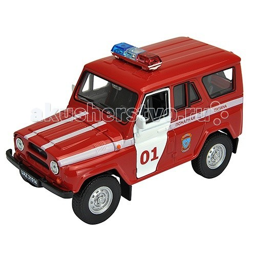 Welly Модель машины УАЗ 31514 Пожарная Охрана 42380FS