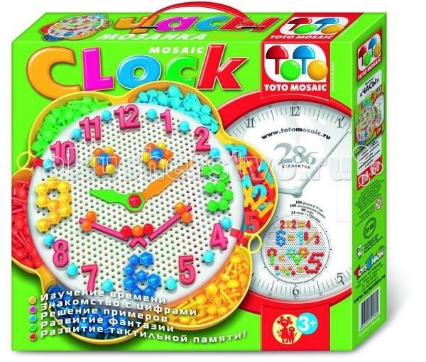 ToysUnion Мозаика-часы.200 фиш.,60 цифр.,24 знака,2 стрелкиМозаика-часы.200 фиш.,60 цифр.,24 знака,2 стрелкиTOYSUNION 00-160 Мозаика-часы.200 фиш.,60 цифр.,24 знака,2 стрелки.  Мозаика-часы - это универсальная обучающая игра для детей от 4 лет. Играя с мозаикой ваш ребенок будет: Изучать время Знакомиться с цифрами Решать примеры Развивать фантазию Развивать тактильную память и мелкую моторику пальчиков. Коробка для мозаики сделана в форме цветочка с шестью лепестками-кармашками, в которых лежат 100 обычных фишек, 100 шестигранных фишек, цифры и арифметические знаки. В центре цветка игровое поле. Комплектация 100 фишек 100 шестигранных фишек 60 цифр 24 арифметических знака 2 стрелки Круглая плата Книжка подсказка.<br>