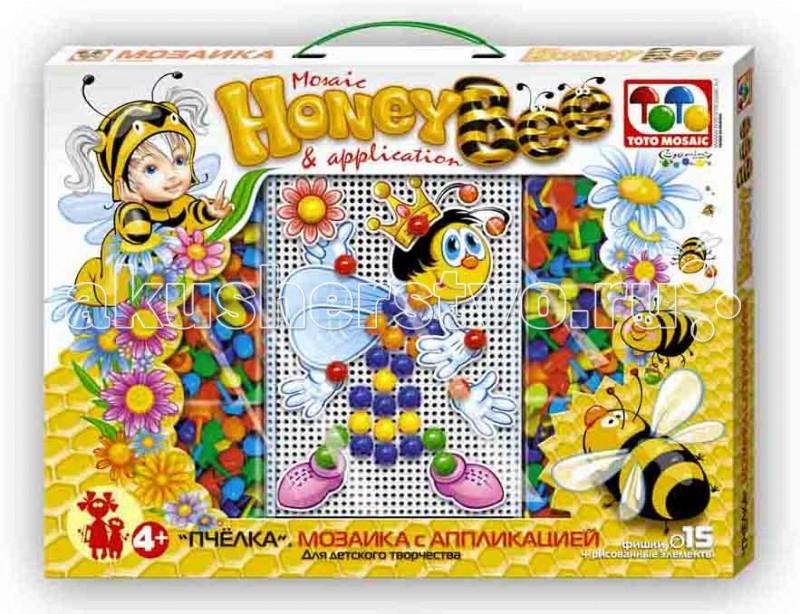 ToysUnion Мозаика С аппликацией Пчела