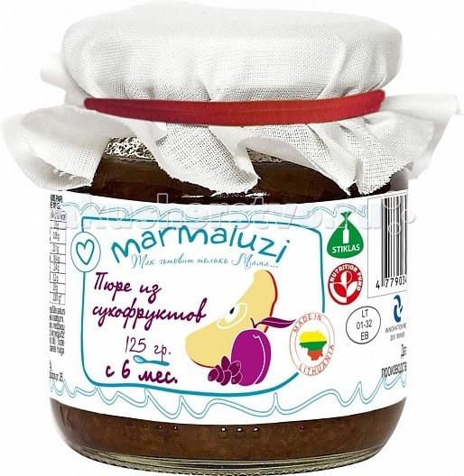 Marmaluzi Пюре из сухофруктов с 6 мес. 125 г
