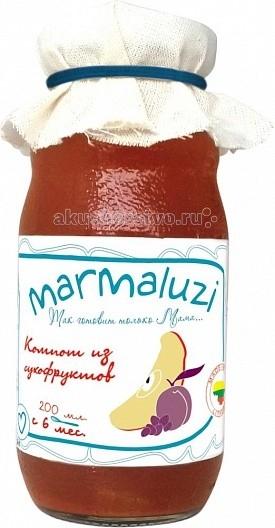 Marmaluzi Напиток Компот из сухофруктов с 6 мес. 200 мл