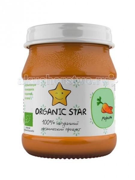 Organic Star Пюре Морковь с 6 мес. 100 г