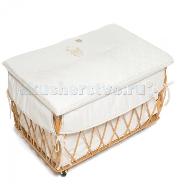 Italbaby Плетеный ящик для игрушек Angioletti