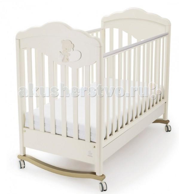 Детская кроватка Italbaby Gold с декором Love