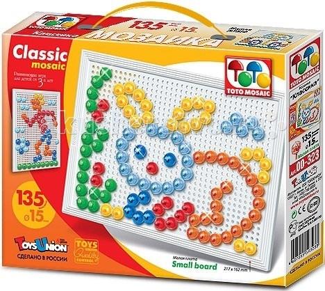 ToysUnion Мозаика CLASSIC MOSAIC Зайчик малая плата 1х10