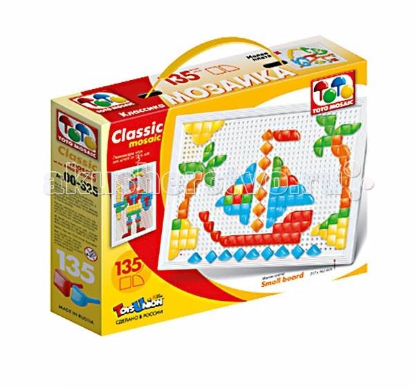 ToysUnion Мозаика Классика 135 элементов, малая плата
