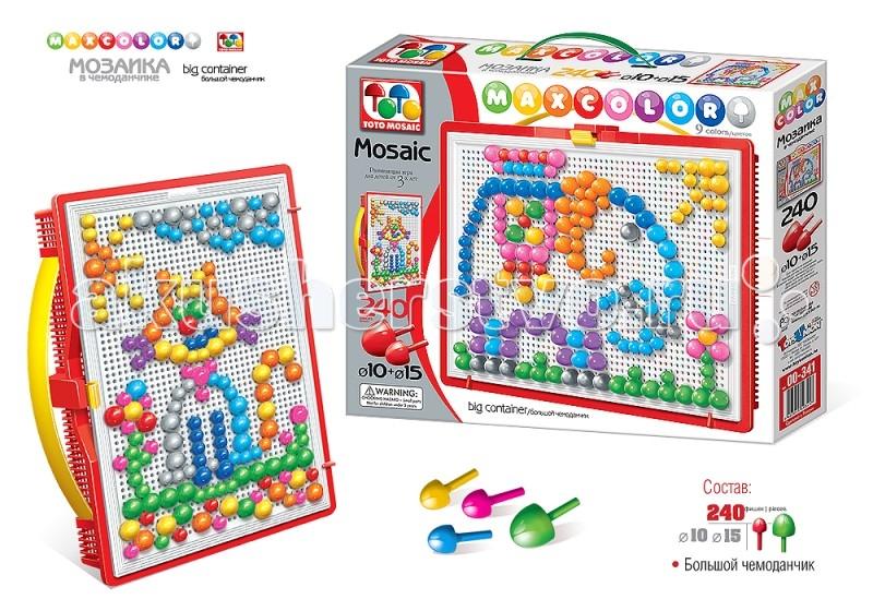 ToysUnion Мозаика Maxcolor В мире животных большой чемоданчик