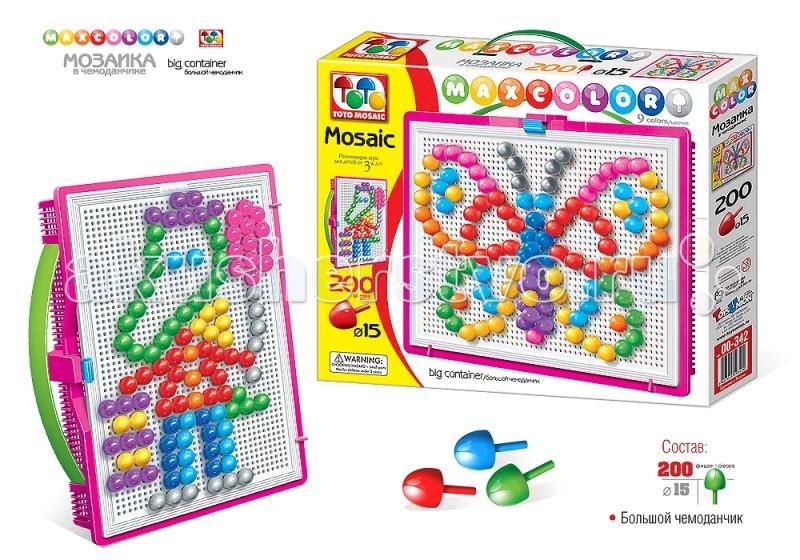 ToysUnion Мозаика Maxcolor Веселые друзья большой чемоданчик