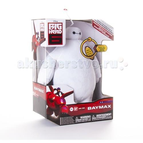 Big Hero 6 Плюшевый Бэймакс 25 смПлюшевый Бэймакс 25 смBig Hero 6 Плюшевый Бэймакс 25 см со звуком.  Если нажать на область сердца, робот станет воспроизводить различные звуки и фразы Бэймакса из мультфильма.  Игрушка сделана из гипоалергенного плюша, ее можно брать с собой на прогулку или в кроватку.  Поставляется в красивой открытой упаковке.  Игрушка робот-нянька со звуковыми эффектами Создана из гипоалергенных материалов Высота игрушки - 25 см<br>