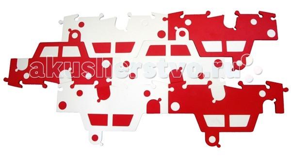 Игровой коврик Tessell пазл-качалка Машина