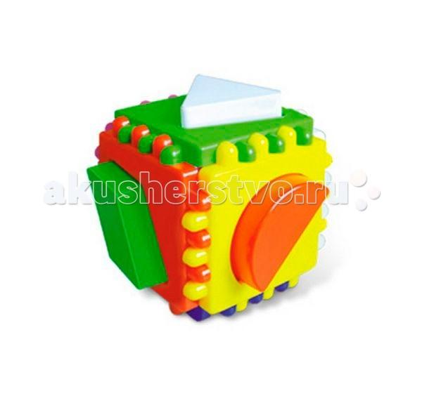 Сортер Стеллар Логический куб малыйЛогический куб малыйСортер Стеллар Логический куб малый поможет вашему малышу развить моторику рук и пространственное воображение. Цель игры очень простая - нужно поместить все фигуры по своим местам!   Игрушка сделана из высококачественных материалов, которые совершенно безопасны для здоровья вашего ребенка!<br>