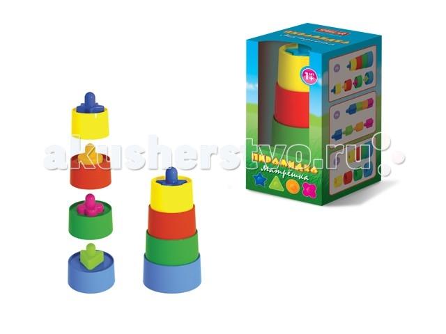 Развивающая игрушка Стеллар Пирамидка Матрешка