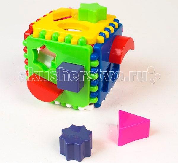 Сортер Стеллар Логический КубЛогический КубСортер Стеллар Логический Куб поможет вашему малышу развить моторику рук и пространственное воображение. Цель игры очень простая - нужно поместить все фигуры по своим местам!   Игрушка сделана из высококачественных материалов, которые совершенно безопасны для здоровья вашего ребенка!<br>