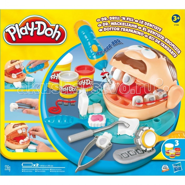 Play-Doh Hasbro ����� ���������� ������ �������� (����� ������)