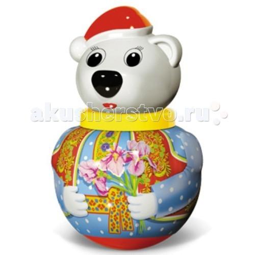 Развивающая игрушка Стеллар Неваляшка малая Белый медведь Тема