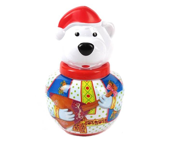 Развивающая игрушка Стеллар Неваляшка Белый медведь БорисНеваляшка Белый медведь БорисРазвивающая игрушка Стеллар Неваляшка малая Белый медведь Борис понравится вашему малышу. Внимание ребенка привлекут яркие цвета игрушки, ее вращение и звон. По мордочке ребенок изучит ее части - ушки, глазки, носик, - и будет их показывать сначала у игрушке, а потом у себя. Игра с неваляшкой развивает координацию движений, моторику ручек. Игрушка изготовлена из безопасных материалов. Мыть ее надо теплой мыльной водой, а затем хорошо ополаскивать чистой водой.  Размер: 12.5 х 16 см<br>