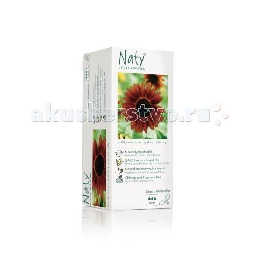 Naty Прокладки ежедневные большие 28 шт.