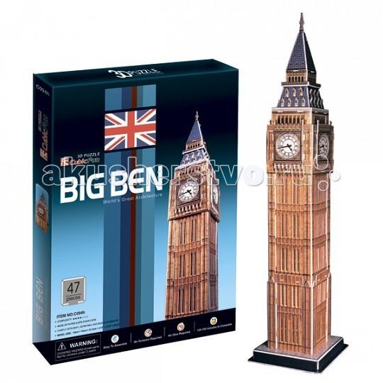 Настольная игра Биг бен (Великобритания), 3D пазл