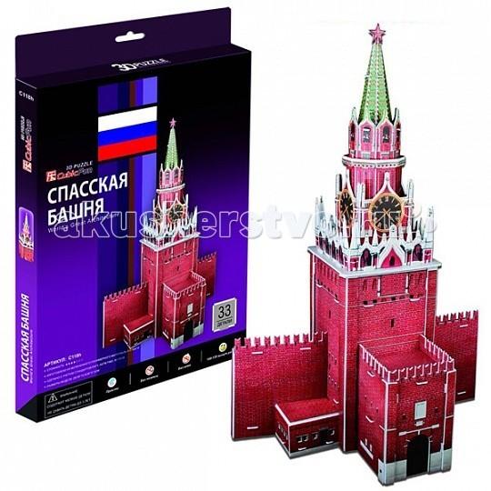 CubicFun 3D пазл Спасская башня (Россия) от Акушерство