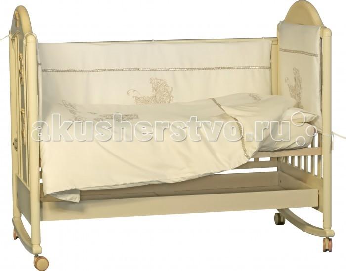 Комплект для кроватки Папитто Мой Малыш (6 предметов)