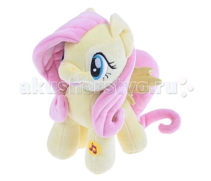 Мягкая игрушка Мульти-пульти My Little Pony Мягкая игрушка Пони Флаттершай 23 смMy Little Pony Мягкая игрушка Пони Флаттершай 23 смМягкая игрушка Мульти-пульти My Little Pony Мягкая игрушка Пони Флаттершай со светом и звуком - это добрый персонаж из сериала о маленьких пони. Он давно стал любимцем маленьких принцесс.   Особенности: В игрушку вмонтирован звуковой чип, благодаря которому игрушка произносит фразы на русском языке.  Пони также имеет и световые эффекты, которые, несомненно, Такой подарок непременно порадует вашу девочку!  Размеры: 23 см<br>