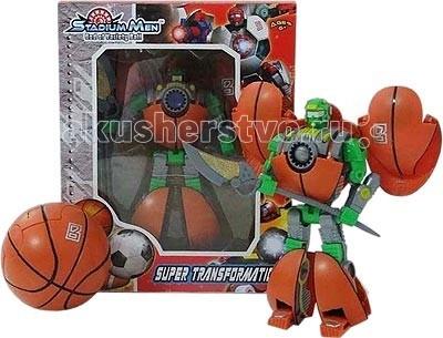 Игралия Робот-трансформер Баскетбольный мяч G2029-2S - ИгралияРобот-трансформер Баскетбольный мяч G2029-2SРобот-трансформер конструктор, преобразующийся в Баскетбольный мяч G2029-2S.  Робот-трансформер превращается в робота-воина, который может