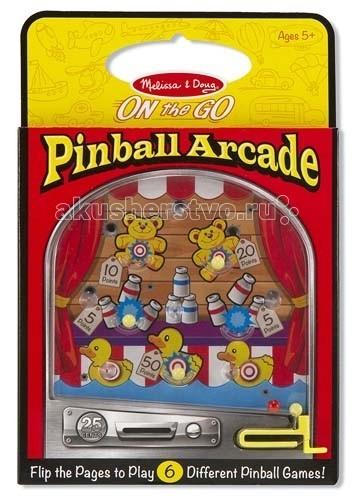 Деревянная игрушка Melissa & Doug Классические игрушки Пинбол