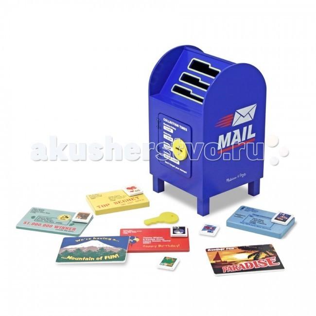 Деревянная игрушка Melissa &amp; Doug Классические игрушки Почтовый ящик-сортировщикКлассические игрушки Почтовый ящик-сортировщикДеревянная игрушка Melissa & Doug Классические игрушки Почтовый ящик-сортировщик - простой в использовании, интересный, красочный набор в виде почтового ящика и всевозможных писем, карточек. Такой набор обязательно привлечет внимание Вашего малыша!   Научит Вашего малыша различать предметы, также поспособствует развитию пространственного и логического мышления, способности к анализу, воображению и речи ребенка, и отлично поможет в мелкой моторике.<br>