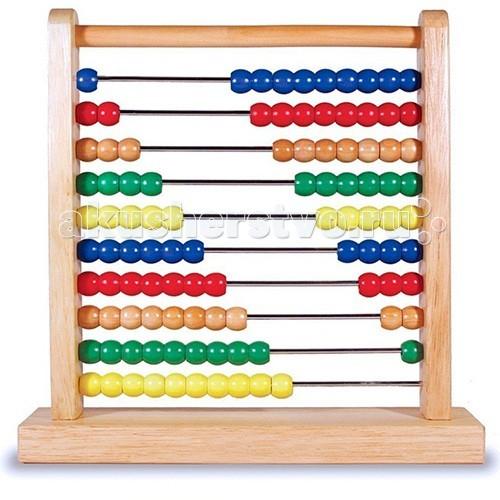 Деревянная игрушка Melissa &amp; Doug Классические игрушки СчетыКлассические игрушки СчетыДеревянная игрушка Melissa & Doug Классические игрушки Счеты - уникальный помощник в процессе обучения вашего ребенка азам математики.   Помогают развивать математические навыки, моторику и распознавания цветов.   Большое количество разноцветных бусин вызывают у ребенка интерес к обучению.<br>