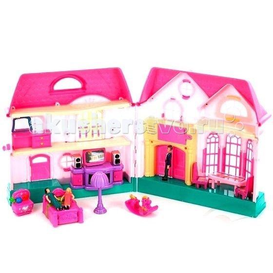 Играем вместе Кукольный домик Волшебный дом 21 деталь