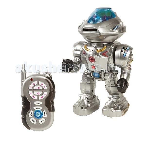 Интерактивная игрушка Играем вместе РоботРоботИнтерактивная игрушка Играем вместе Робот понравится всем мальчишкам которые интересуются техникой и роботами.  Игрушка изготовлена из высококачественных материалов и безопасна для здоровья.  Особенности: Интерактивный робот рассказывает сказки и загадывает математические загадки, двигается в различных направлениях, стреляет мягкими дисками, поет две песни, дает полезные советы.  Игрушка имеет пульт радиоуправления, голосовое управление, световую индикацию.<br>