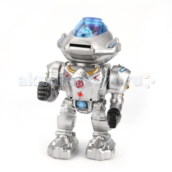 Интерактивная игрушка Играем вместе Робот A224-H05056-RРобот A224-H05056-RИнтерактивная игрушка Играем вместе Робот понравится всем мальчишкам которые интересуются техникой и роботами.   Игрушка изготовлена из высококачественных материалов и безопасна для здоровья.  Особенности: Говорит 6 фраз Стреляет дисками  Ходит  Танцует<br>