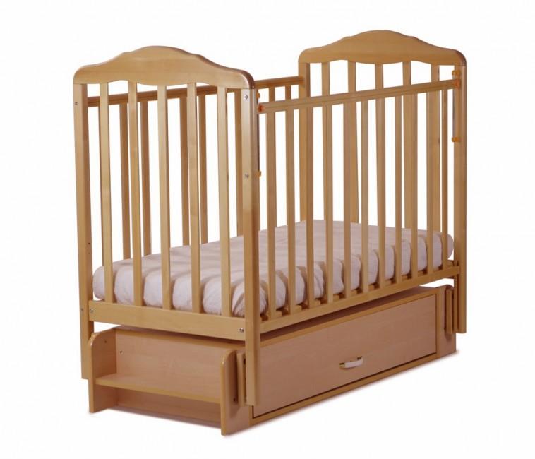 Детская кроватка СКВ Компани Березка 12600 универсальный маятник