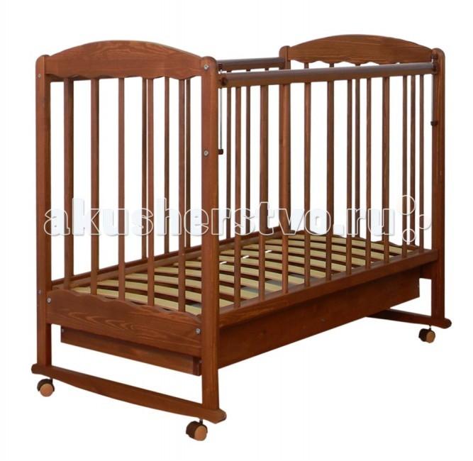 Детская кроватка СКВ Компани 33311 качалка с ящиком