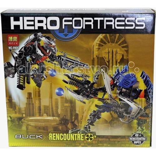 Конструктор Bela Робот-трансформер от Hero Fortress 9906