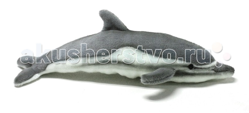 Мягкая игрушка Hansa Дельфин 40 смДельфин 40 смДельфин, 40 см.  Игрушки Ханса изготовлены из искусственного меха очень приятного на ощупь, внутри имеют титановый каркас. Наличие каркаса позволяет изменять положение лап и туловища, а также поворачивать голову. Игрушки полностью копируют оригинал и могут быть выполнены в натуральную величину. На крупно габаритных игрушках ослик, лошадка и проч., размером от 1м можно сидеть верхом. Благодаря прочному каркасу, они выдерживают вес до 65-70кг. Компания Hansa была основана в 1972 году на Филиппинах мистером Хансом Акстельмом и в прошлом году отметила свой 40 летний юбилей. 7 мировыч обществ охраны природы признали мягкие игрушки фирмы Ханса самыми натуралистичными моделями животных .  Мягкие игрушки Ханса: абсолютно реалистичные жирафы, слоны, коалы и медведи, изготовленные из экологически чистых материалов, сертифицированные как детские игрушки, могут так же стать великолепным украшением любого интерьера – от оформления комнаты до торгового зала, офиса, ресторана, шоу-программы или праздничной вечеринки.  Игрушки HANSA идеальны для модных интерьеров в африканском или японском стиле. Благодаря своей реалистичности игрушки Hansa имеют огромное природоохранное значение - они позволяют любоваться дикими животными, сохраняя им жизнь. Отдельная линия анимированных декоративных композиций дает возможность создавать эффектные экспозиции для выставок, презентаций, витрин и проч. Мягкие анимированные игрушки нередко делаются на заказ, для конкретных интерьеров и событий. В ассортименте hansa игрушки более 3000 наименований: от райских птичек и мышей 5 см до слонов и жирафов 4,5 м.<br>