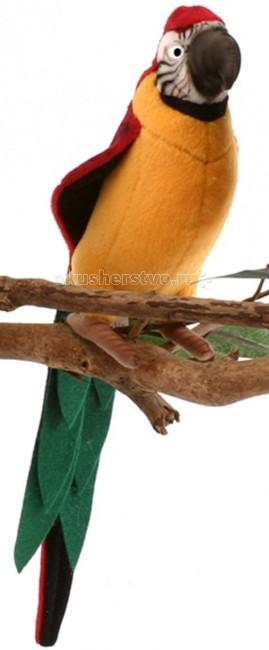Мягкая игрушка Hansa Желтый попугай 37 смЖелтый попугай 37 смЖелтый попугай, 37 см.  Игрушки Ханса изготовлены из искусственного меха очень приятного на ощупь, внутри имеют титановый каркас. Наличие каркаса позволяет изменять положение лап и туловища, а также поворачивать голову. Игрушки полностью копируют оригинал и могут быть выполнены в натуральную величину. На крупно габаритных игрушках ослик, лошадка и проч., размером от 1м можно сидеть верхом.   Благодаря прочному каркасу, они выдерживают вес до 65-70кг. Компания Hansa была основана в 1972 году на Филиппинах мистером Хансом Акстельмом и в прошлом году отметила свой 40 летний юбилей. 7 мировыч обществ охраны природы признали мягкие игрушки фирмы Ханса самыми натуралистичными моделями животных .  Мягкие игрушки Ханса: абсолютно реалистичные жирафы, слоны, коалы и медведи, изготовленные из экологически чистых материалов, сертифицированные как детские игрушки, могут так же стать великолепным украшением любого интерьера – от оформления комнаты до торгового зала, офиса, ресторана, шоу-программы или праздничной вечеринки.  Игрушки HANSA идеальны для модных интерьеров в африканском или японском стиле. Благодаря своей реалистичности игрушки Hansa имеют огромное природоохранное значение - они позволяют любоваться дикими животными, сохраняя им жизнь. Отдельная линия анимированных декоративных композиций дает возможность создавать эффектные экспозиции для выставок, презентаций, витрин и проч. Мягкие анимированные игрушки нередко делаются на заказ, для конкретных интерьеров и событий. В ассортименте hansa игрушки более 3000 наименований: от райских птичек и мышей 5 см до слонов и жирафов 4,5 м.<br>