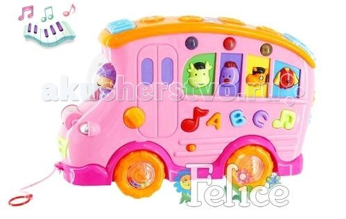 Felice Автобус с доской для рисования