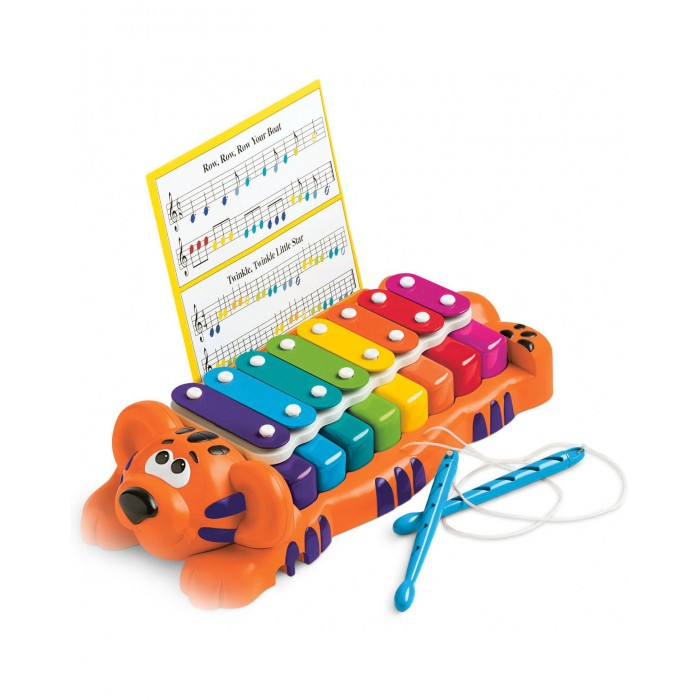 Музыкальная игрушка Little Tikes Тигр пианино-ксилофон 2 в 1 629877 от Акушерство