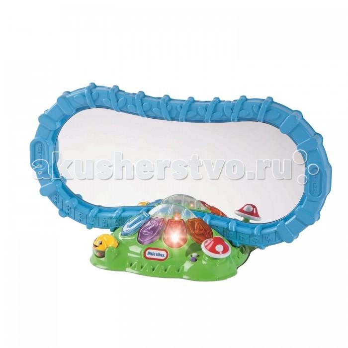 Little Tikes Игрушка развивающая ЗеркалоИгрушка развивающая ЗеркалоИгрушка развивающая Зеркало со звуковыми и световыми эффектами.  Яркое, музыкальное и безопасное зеркало будет не только служить утилитарным способом, но также развлекать Ваших детей.    Зеркало может устанавливаться в 2-х положениях: горизонтально или вертикально в зависимости от возраста Вашего ребенка.<br>