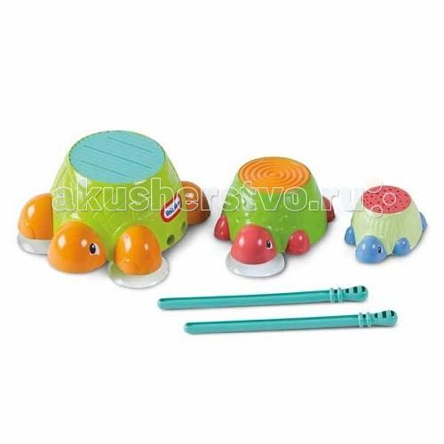 Little Tikes Игрушка для ванны Черепашки-барабаны 632266