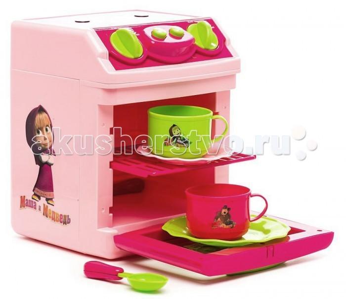 Играем вместе Кухонная плита Маша и медведь B1075995-RКухонная плита Маша и медведь B1075995-RИграем вместе Кухонная плита Маша и медведь с посудой понравится вашей маленькой хозяйке, особенно если она любит мультик «Маша и Медведь». Готовить можно на маленькой сковороде, используя миниатюрные продукты из комплекта.  С этой игрой ваш ребёнок получит базовые знания о готовке продуктов, узнает, как правильно пользоваться плитой, и научится придумывать разнообразные блюда.<br>