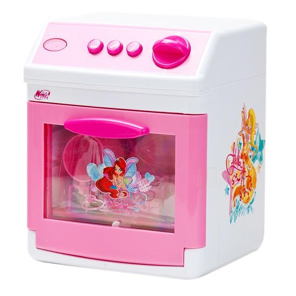 Играем вместе Посудомоечная машина WinxПосудомоечная машина WinxИграем вместе Посудомоечная машина Winx - это замечательная посудомоечная машина станет отличным подарком для вашей малышки. Если у нее не хватает времени вымыть игрушечную посудку, то она сможет воспользоваться этой чудесной техникой.  Посудомоечная машина стилизована под всеми любимый мультфильм о феях Winx, имеет звуковые и световые эффекты. А также в ней может использоваться вода.   Пусть ваша девочка почувствует себя настоящей хозяйкой с такой отличной игрушкой.<br>