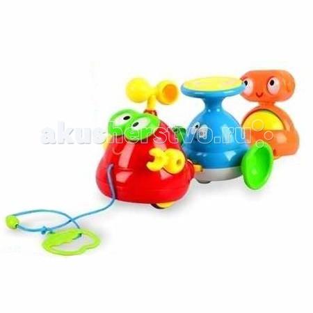 Каталка-игрушка Zhorya Забавный хоровод