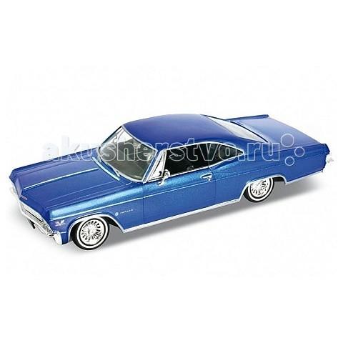 Welly Модель винтажной машины 1:24 Chevrolet Impala 1965Модель винтажной машины 1:24 Chevrolet Impala 1965Модель винтажной машины 1:24 Chevrolet Impala 1965  Коллекционная модель винтажной машины.   Функции: открываются передние двери, капот.<br>