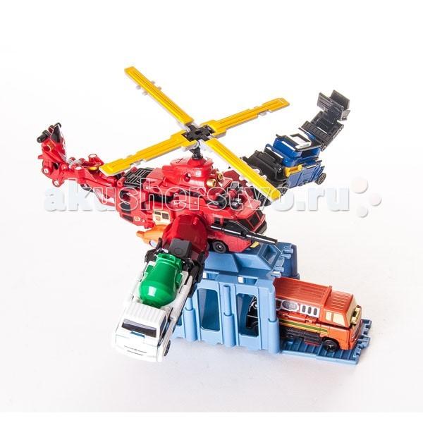 Voov Пожарно-спасательный вертолет-трансформер 84367Пожарно-спасательный вертолет-трансформер 84367Пожарно-спасательный вертолет-трансформер 84367  Оригинальная игрушка от Bandai из серии Voov - Пожарно-спасательный вертолет-трансформер!   В набор входят две пожарные машинки и скутер, которые трансформируются в спасательный вертолет. К нему крепятся два специальных держателя и контейнер для транспортировки машинок.   Увлекательная игрушка для любителей трансформеров станет прекрасным дополнением коллекции! Создавай сюжеты чрезвычайных ситуаций и совершай спасательные операции при помощи Пожарно-спасательного вертолета-трансформера!  Вертолет собирается из двух пожарных машинок и скутера.<br>