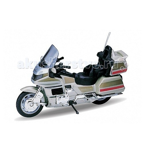 Welly Модель мотоцикла 1:18 Honda Gold WingМодель мотоцикла 1:18 Honda Gold WingМодель мотоцикла 1:18 Honda Gold Wing<br>