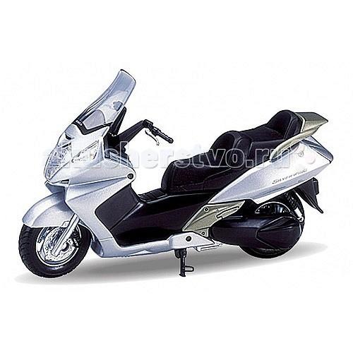 Welly Модель мотоцикла 1:18 Honda Silver WingМодель мотоцикла 1:18 Honda Silver WingМодель мотоцикла 1:18 Honda Silver Wing  Коллекционная модель мотоцикла масштаба 1:18 Honda Silver Wing.<br>