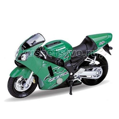 Welly Модель мотоцикла 1:18 Motorcycle Kawasaki 2001 Ninja ZX-12RМодель мотоцикла 1:18 Motorcycle Kawasaki 2001 Ninja ZX-12RМодель мотоцикла 1:18 Motorcycle Kawasaki 2001 Ninja ZX-12R  Коллекционная модель мотоцикла масштаба 1:18 Motorcycle Kawasaki 2001 Ninja ZX-12R.<br>