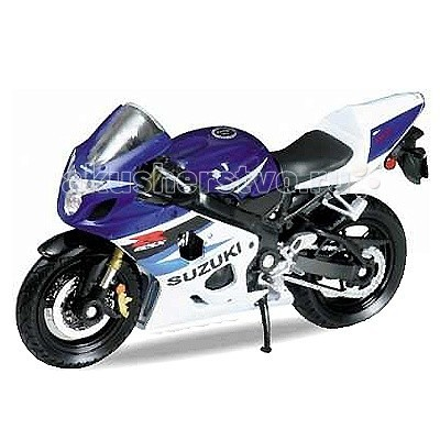 Welly Модель мотоцикла 1:18 Motorcycle Suzuki GSX-R750Модель мотоцикла 1:18 Motorcycle Suzuki GSX-R750Модель мотоцикла 1:18 Motorcycle Suzuki GSX-R750  Коллекционная модель мотоцикла масштаба 1:18 Motorcycle Suzuki GSX-R750.<br>